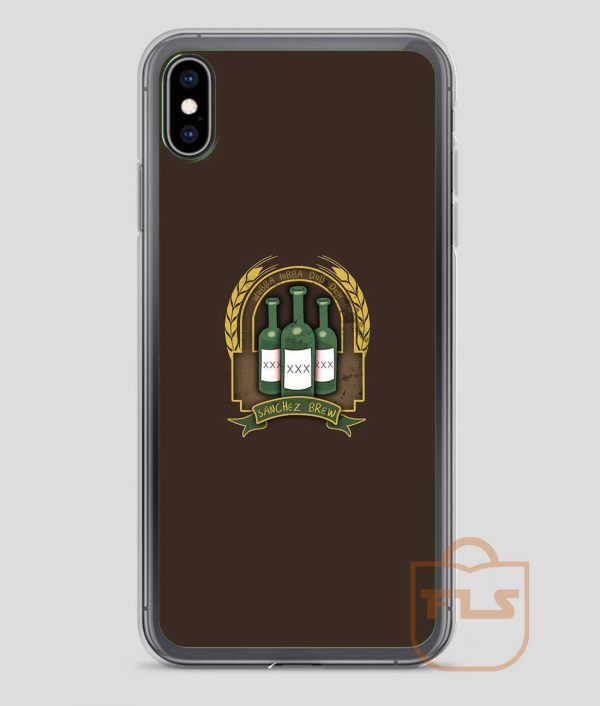 Rick-Sanchez-Brew-iPhone-Case