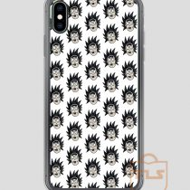 Rick-Ugly-Face-Pattern-iPhone-Case