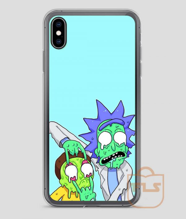Rick-and-Morty-Drugs-Zombie-iPhone-Case