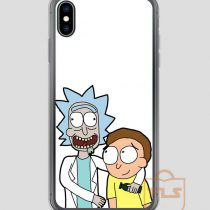 Rick-and-Morty-Friends-iPhone-Case