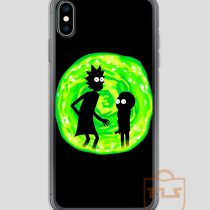 Rick-and-Morty-Green-iPhone-Case