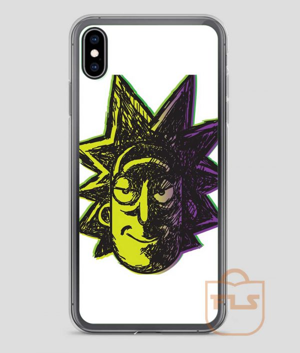Rick-and-Morty-Paints-iPhone-Case