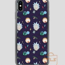 Rick-and-Morty-Pattern-iPhone-Case