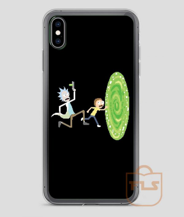 Rick-and-Morty-Pixel-Rick-iPhone-Case