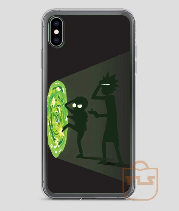 Rick-and-Morty-Portal-Travel-iPhone-Case