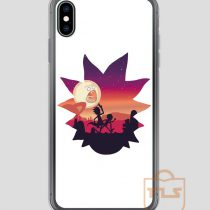 Rick-and-Morty-Run-iPhone-Case
