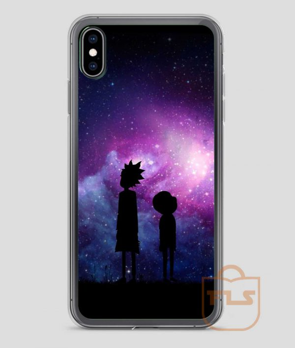Rick-and-Morty-Space-Design-iPhone-Case