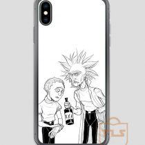 Rick-and-Morty-Stylised-iPhone-Case