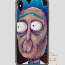 Rick-and-Morty-Trippy-Rick-iPhone-Case