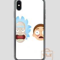 Rick-and-Morty-illustration-iPhone-Case
