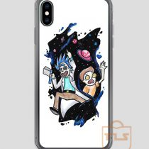 Rick-and-Morty-in-Space-iPhone-Case