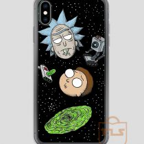 Rick-and-Porty-Portal-Heads-iPhone-Case