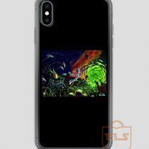 Run-Rick-and-Morty-iPhone-Case