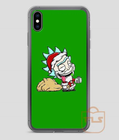 Santa-Rick-iPhone-Case