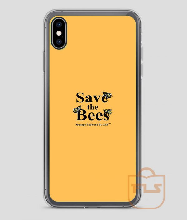 Save-The-Bees-iPhone-Case