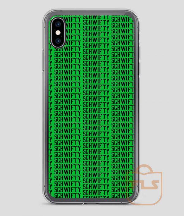 Schwifty-Word-iPhone-Case