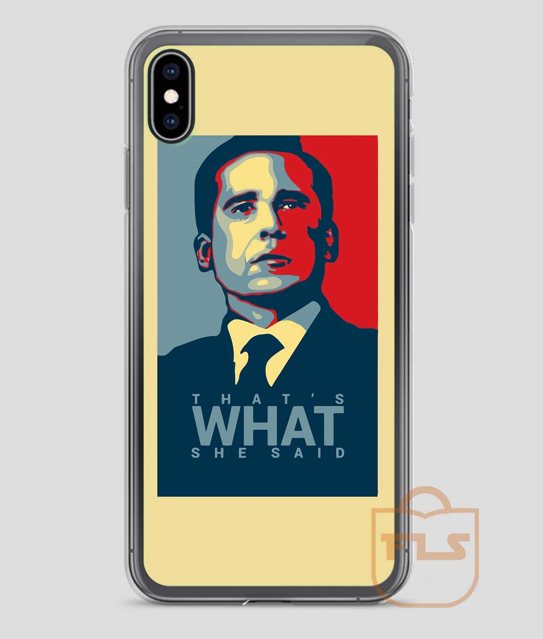 online store 87aed e9396 That's What She Said Michael Scott The Office US iPhone Case X XS XR XS Max