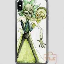 Toxic-Rick-and-Morty-iPhone-Case