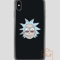 Vintage-Evil-Rick-Face-iPhone-Case
