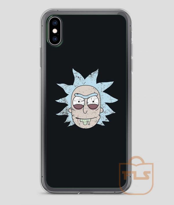 Vintage-Evil-Rick-Face-iPhone-Case