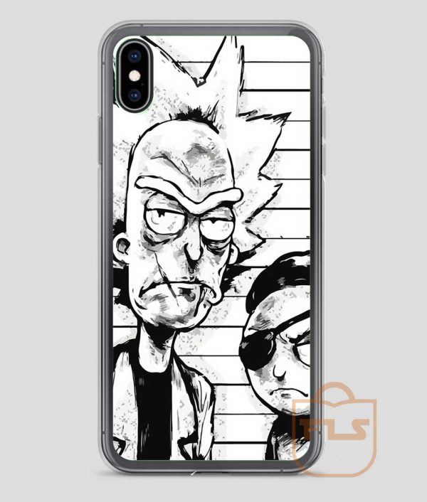 Wanted-Rick-and-Morty-iPhone-Case