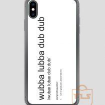 Wubba-Lubba-Dub-Dub-Definition-iPhone-Case