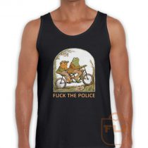 Frog and Toad F*CK the Police Tank Top