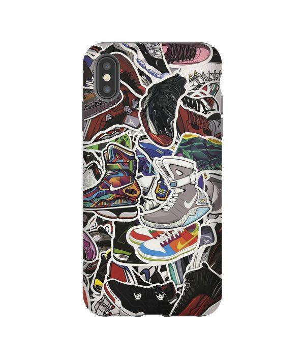 100 Sneaker iPhone Case