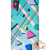 80s Pop Retro Pattern iPhone Case