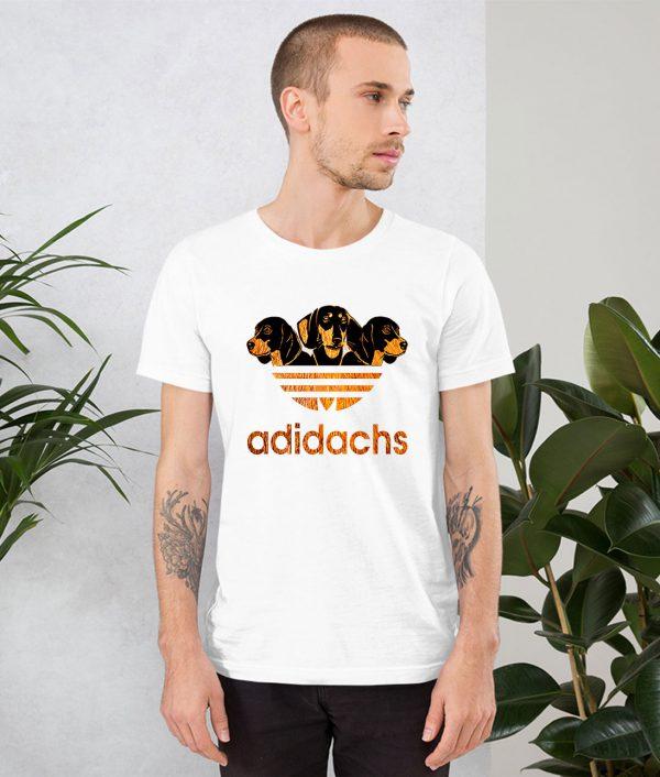 Adidachs Dachshund Dog Parody T Shirt