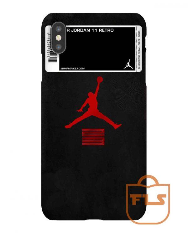 Air Jordan 11 Retro iPhone Case