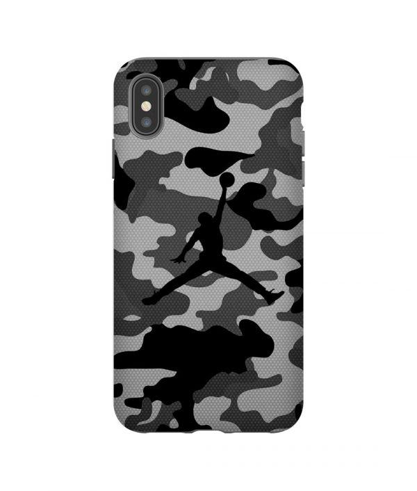 Air Jordan Bape Grey iPhone Case