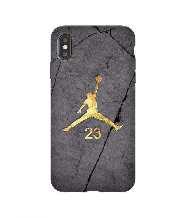 Air Jordan Gold iPhone Case