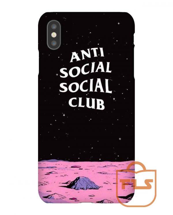 Anti Social Social Club Space iPhone Case