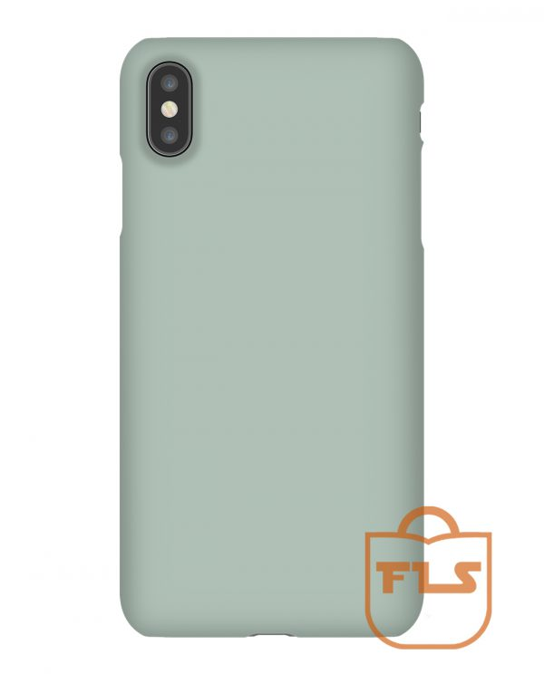 Ash Color Solid iPhone Case
