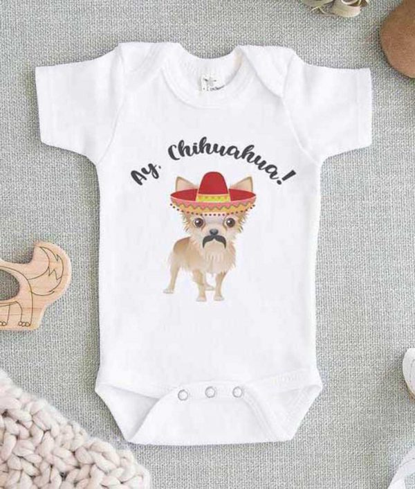 Ay Chihuahua Baby Onesie