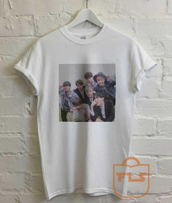 BTS Love Yourself Poster Bangtan Boys T Shirt