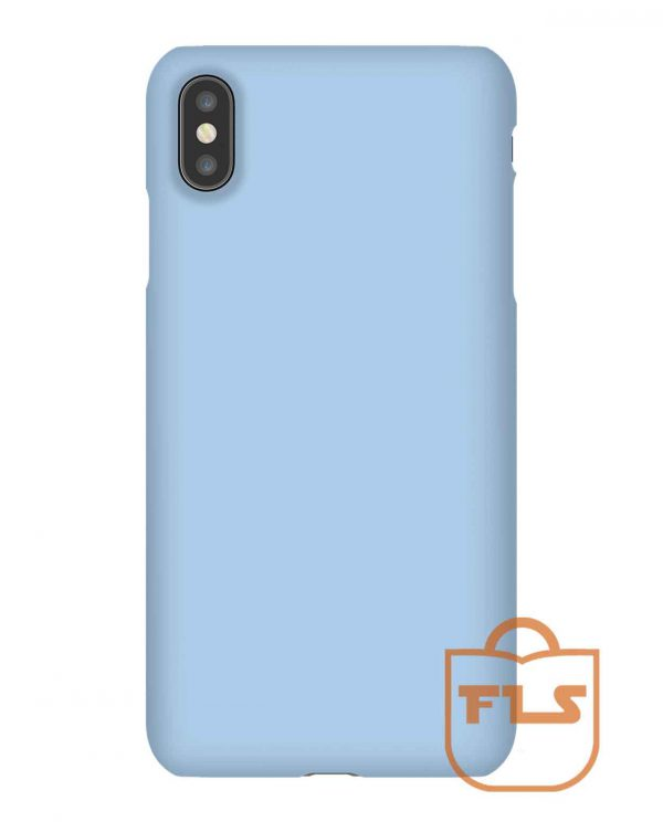 Baby Blue Solid Color iPhone Case