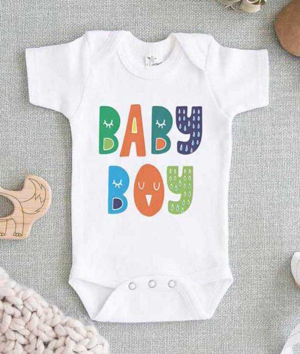 Baby Boy Baby Onesie