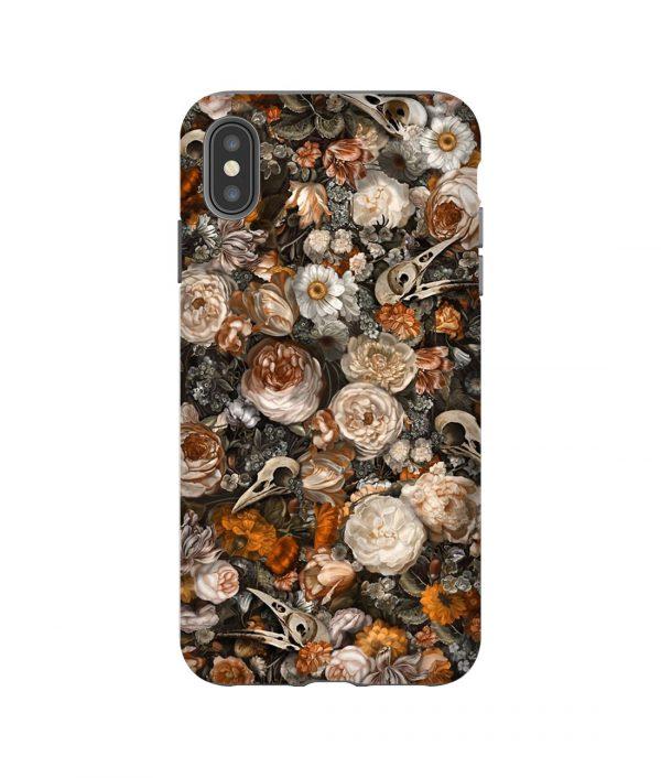 Baroque Macabre Aesthetic iPhone Case