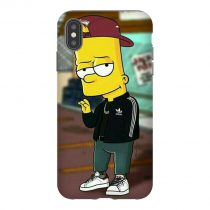 Bart Adidas iPhone Case