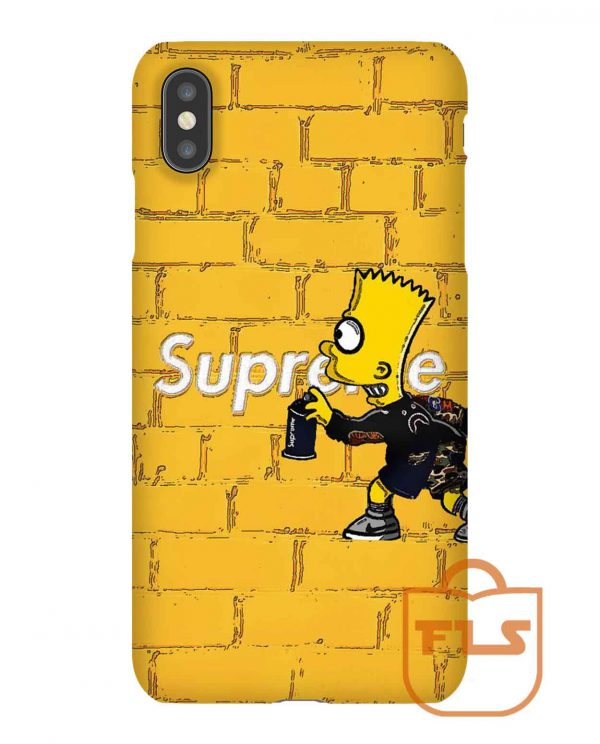Bart Supreme Funny iPhone Case