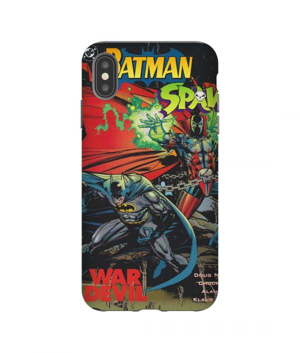 Batman Spawn War Devil iPhone Case