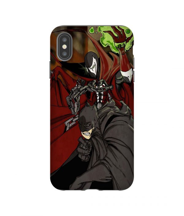 Batman vs Spawn iPhone Case