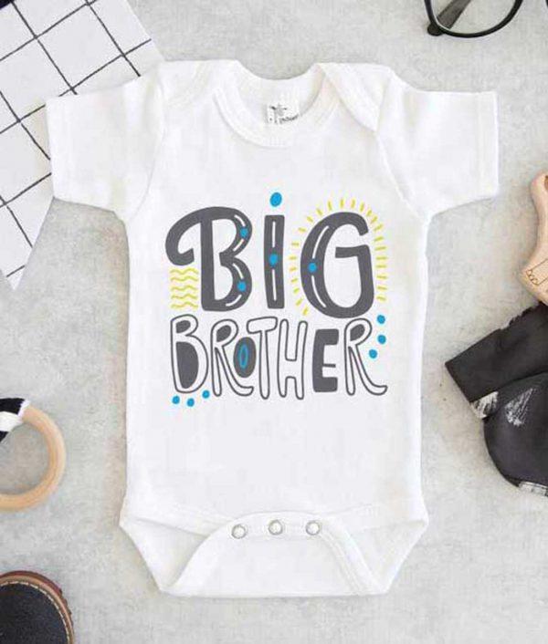 Big Brother Baby Onesie