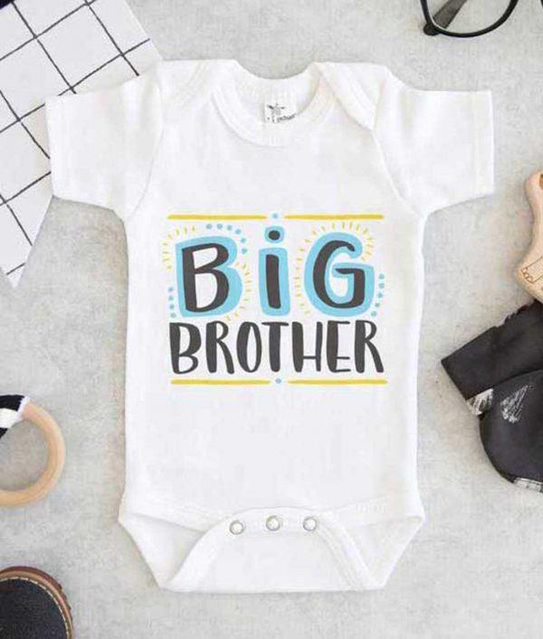 Big Brother Color Baby Onesie
