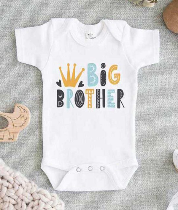 Big Brother Cute Baby Onesie