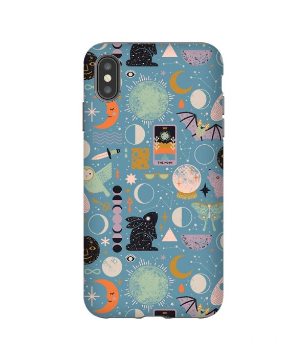Blue Moon Inspired iPhone Case