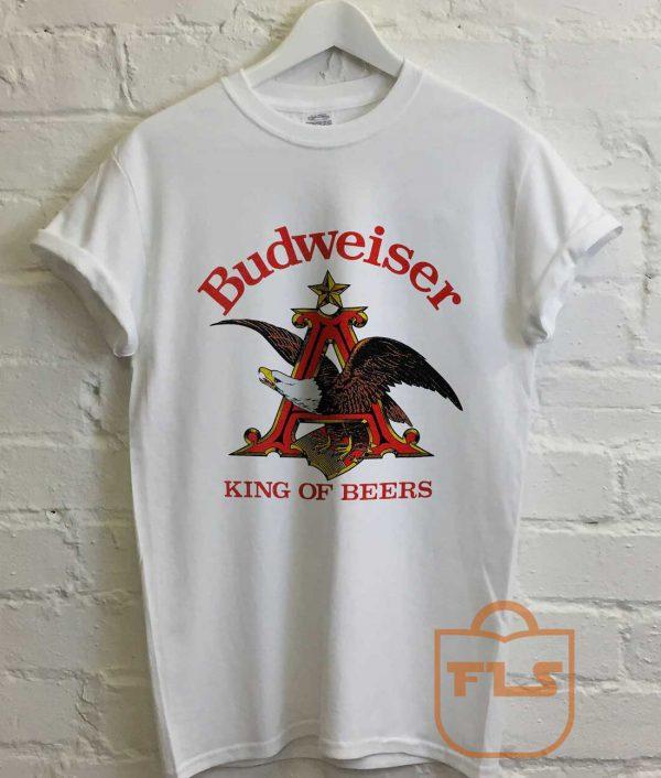 Budweiser King of Beers Vintage T Shirt