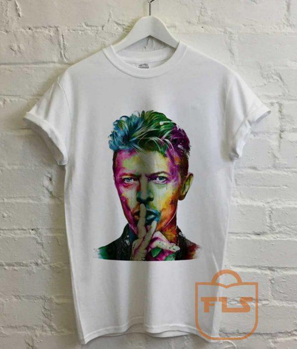 David Bowie Colorful Vintage T Shirt
